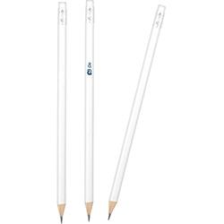 Yuvarlak Silgili Boyalı Kurşun Kalem