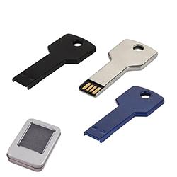 16 GB Metal Anahtar USB Bellek