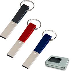 16 GB Metal USB Bellek Anahtarlık
