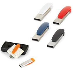 8 GB Metal Plastik USB Bellek