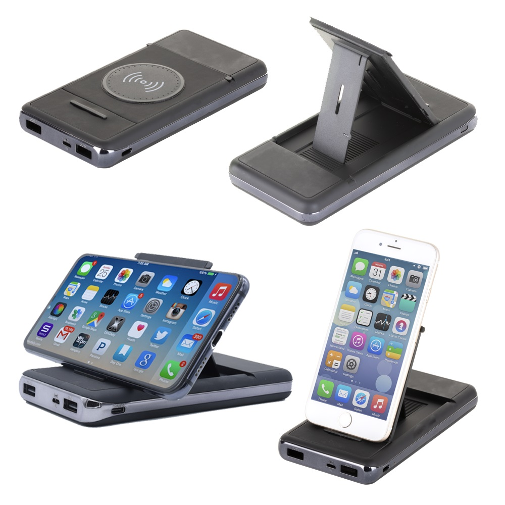 10000 mAh Wireless Power Bank Mobil Şarj Cihazı