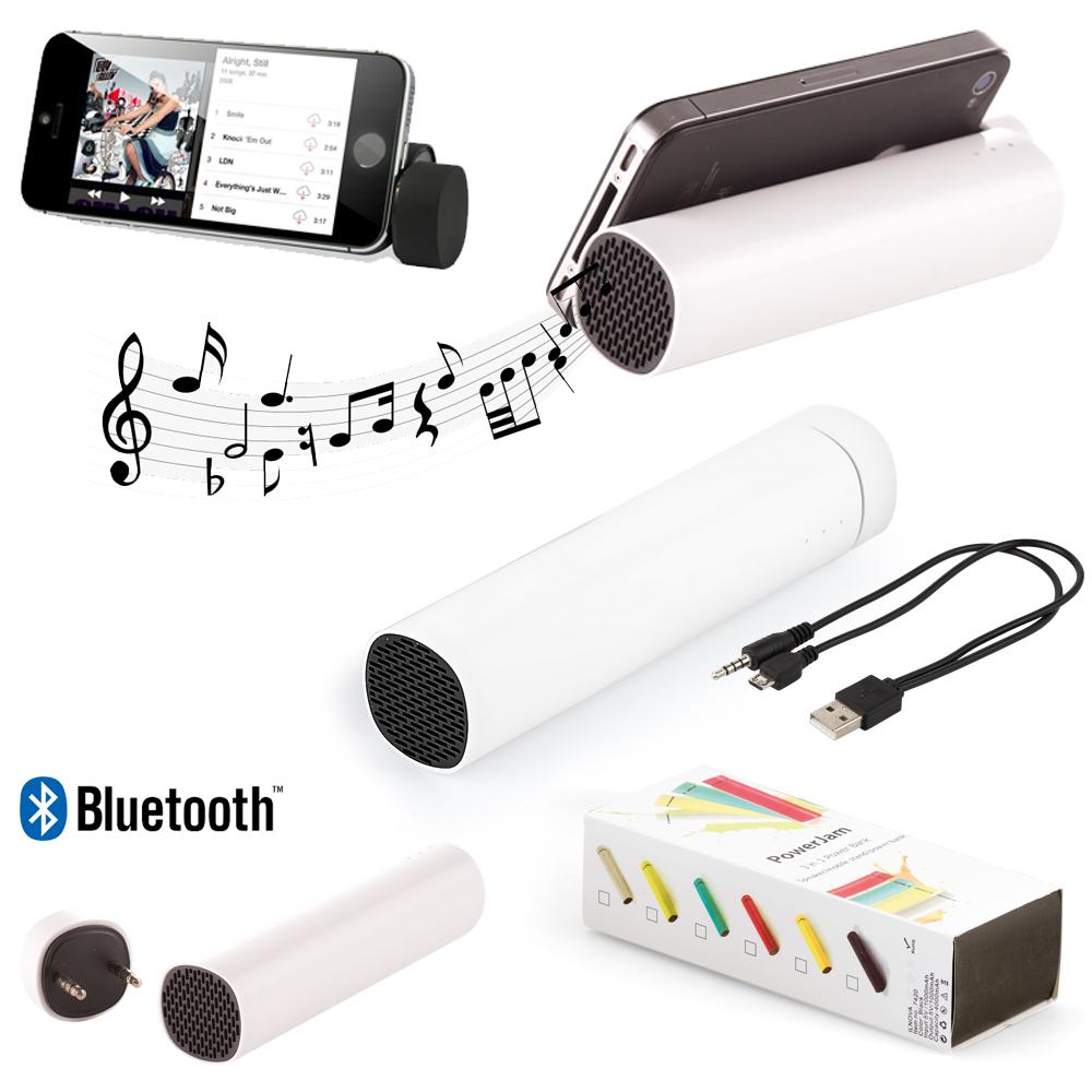 4000 mAh Power Bank Mobil Şarj Cihazı (Bluetooth Speaker Özellikli)