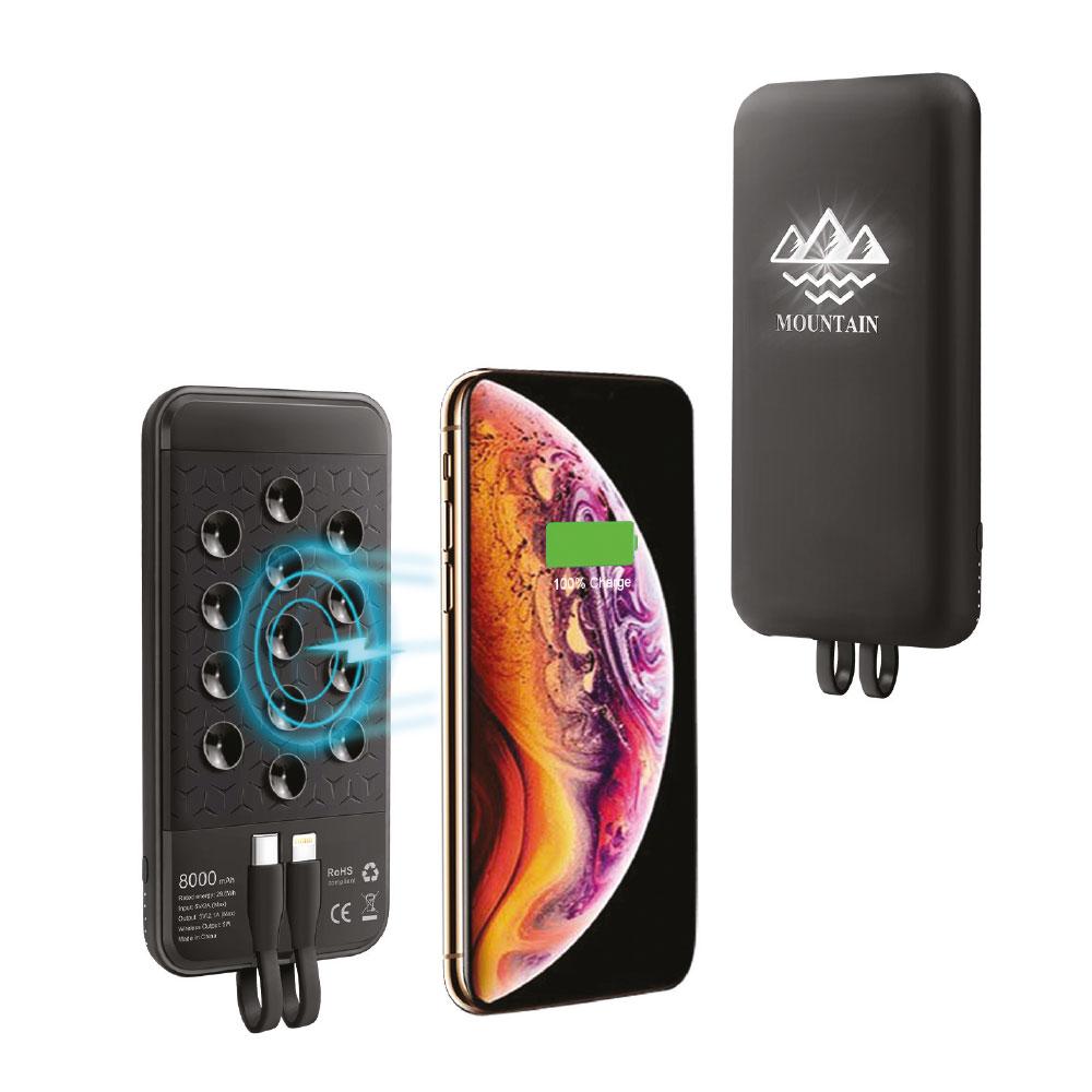 Wireless Mobil Şarj Cihazı 8000 mAh